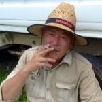 中津隈俊久 ('64年生まれ、福岡県北九州市出身)株式会社 農樹 代表取締役の父 (通称・クマさん)